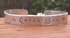 Queen Bee Cuff Bracelet on Etsy, $23.00