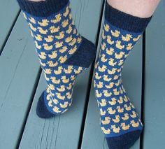 Ravelry: Rubberduck Socks pattern by Renate Nilsen