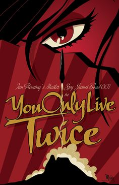 You Only Live Twice by MikeMahle on DeviantArt