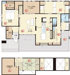 Home plans craftsman interiors 20 New Ideas Small Floor Plans, House Floor Plans, Exterior Siding Colors, Muji Home, Craftsman Floor Plans, Craftsman Interior, Home Studio Music, Japanese House, Story House