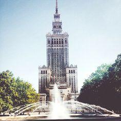 Pałac Kultury i Nauki.
