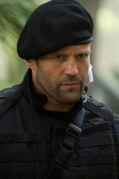 jason statham...The Expendables...Love this character! Wouldn't mind if he looked at me like that