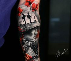 Tattoo photo - Army piece, tattoo by Michael Cloutier Patriotische Tattoos, Army Tattoos, Military Tattoos, Dope Tattoos, Trendy Tattoos, Forearm Tattoos, Body Art Tattoos, Sleeve Tattoos, Tattoos For Guys