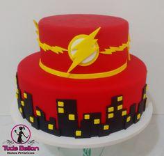 Wonderful Image of Flash Birthday Cake . Flash Birthday Cake 28 3542 3406 28 9 9995 3406 Contatotudebolosbr Www Flash Birthday Cake, Superhero Birthday Cake, Cookie Cake Birthday, 1st Birthday Cakes, Avengers Birthday, Birthday Cake Toppers, Boy Birthday, Superhero Party, Bolo Flash