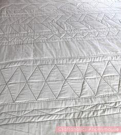 geometric quilt tutorial