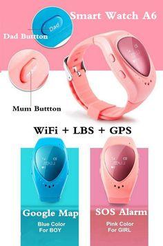 Smart Watches List High Quality Smart Watch A6 Gps Tracker Watch For Kids Child Bracelet Google Map Sos Alarm Wifi+Lbs+Gps Smart Watches Women From Archerslove, $37.18  Dhgate.Com