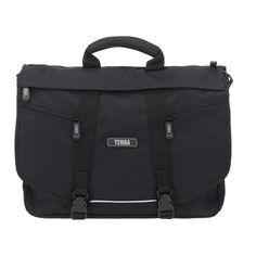 Tenba messenger bag. Can't wait to make this my new camera bag.