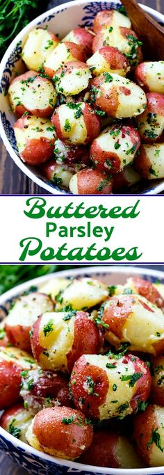 Buttered Parsley Pot