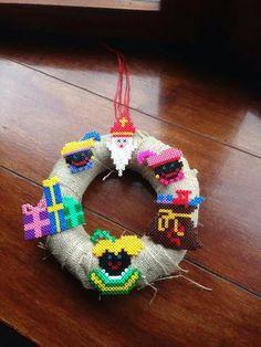 Sinterklaaskrans strijkkralen