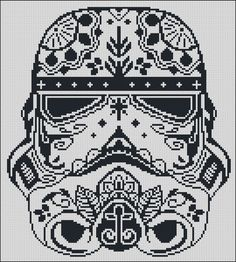 BOGO FREE Storm Trooper Star Wars Cross Stitch by StitchLine