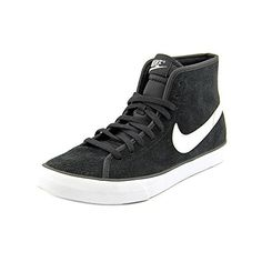 f157401573 Nike Womens Primo Court Mid Suede Black Fashion Sneaker Shoe 65 BM US   You  can find out more details at the link of the image.