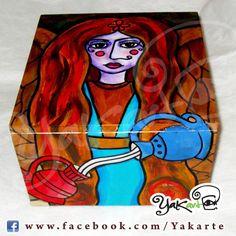 "Caja Mágica ""Lola Templanza"" www.facebook.com/Yakarte"