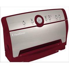 Foodsaver V3817 Vertical Vacuum Food Sealer Packaging System Stainless Red FoodSaver http://smile.amazon.com/dp/B00IAWXHW8/ref=cm_sw_r_pi_dp_cZZGub0ZBYZFA