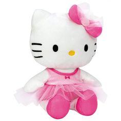 Hello Kitty Ballerina Plush Pink 27 CM - Hello Kitty - Buckets and Spades for kids
