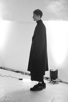 Nicholas Costa Backstage at Damir Doma Fall Winter 2014