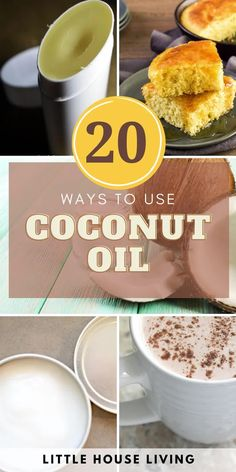 Are you utilizing that jar of coconut oil to its full potential? I bet you didn't know that you didn't know all of these ways how to use coconut oil! Coconut Oil Deodorant, Liquid Coconut Oil, Homemade Coconut Oil, Homemade Deodorant, Coconut Oil Uses, Herbal Remedies, Natural Remedies, Homemade Shaving Cream, Recipe Link