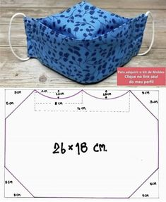 Sewing Hacks, Sewing Tutorials, Sewing Crafts, Sewing Projects, Sewing Patterns, Crochet Patterns, Easy Face Masks, Diy Face Mask, Mouth Mask Fashion