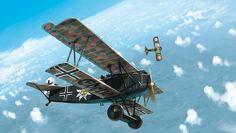 Le blog de Romain Hugault: Le pilote à l'Edelweiss #3, le duel.