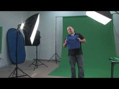 Green Screen Tips, Tricks and Materials - Chromakey Tutorial - YouTube