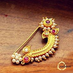 Clip on nath - No Piercing needed nose ring Nath Nose Ring, Nose Ring Jewelry, Ruby Jewelry, India Jewelry, Nose Rings, Jewelry Tree, Glass Jewelry, Diamond Jewelry, Indian Wedding Jewelry