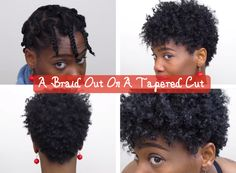 This post demonstrates a braid out on a tapered cut and outlines what you will need