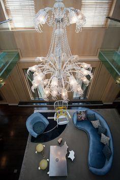 Sofa: MOON SYSTEM - Collection: B&B Italia - Design: Zaha Hadid ...