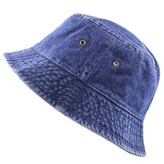 d65ba589a8f82 New The Hat Depot High Quality Washed Cotton Denim Bucket Hat online  shopping