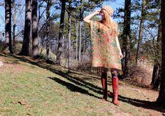 handmade silk & cashmere gypsy kaftan dress with fringe $117 from RubyChicOriginals on Etsy. I think I can do this myself.