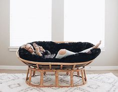 Have You Ever Noticed That A #pier1 Double Papasan Cradles Your Head At The  Perfect Angle For Phone Viewing? @yevigreene Has! Get Your Ideal  #LazySaturday ...