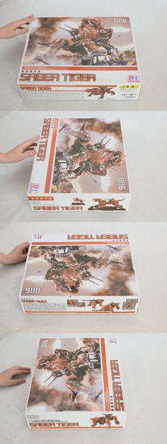 Other Models and Kits 774: Bt Zoids Hmm Red Saber Tiger 006 1 72 Scale Full Action Plastic Model Kit -> BUY IT NOW ONLY: $125 on eBay!