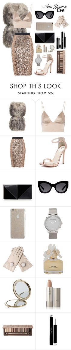 """New Years Eve Party"" by breehedges ❤ liked on Polyvore featuring мода, PINGHE, T By Alexander Wang, French Connection, Windsor Smith, UN United Nude, Karen Walker, Case-Mate, Larsson & Jennings и Marc by Marc Jacobs"
