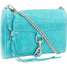 Rebecca Minkoff - Morning After Clutch    One of my favourite bags ever from Rebecca Minkoff. LOVE THE TEAL! <3