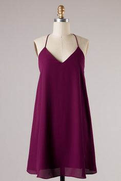 Cormac Dress - Burgundy