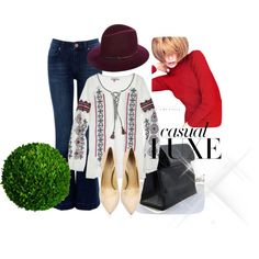 """Casual"" by madlene-137 on Polyvore"