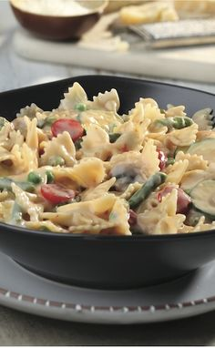Fun to say and eat. Check out our Farfalle Primavera in Cream Sauce for a family perfect meal! For more FASTastic recipes and savings, visit: https://secure.bestmealsathome.com/signup.aspx