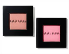Left: Bobbi Brown's newest blush in Nude Peach. Perfect for Spring, so perfect it's sold out in stores