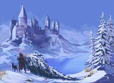Winter Hogwarts by kissyushka on DeviantArt