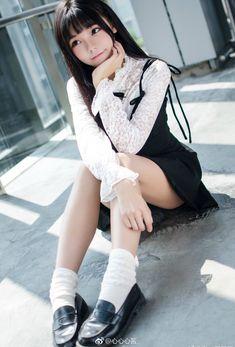 High Fashion Outfits, Lolita Fashion, Cosplay Girls, Human Body, Asian Girl, Swimsuits, Poses, Cute, Beautiful