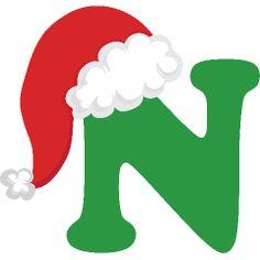 25 Ideas De Letras Navidad Letras Feliz Navidad Gorro De Papa Noel Letras De Burbujas