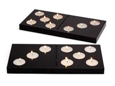 """tea candle holder type """"domino"""""""