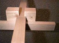 Build Your Own Easel! -- PLANS: top clamp