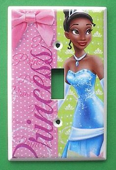 Princess and the Frog TIANA Single Switch Plate switchplate: http://www.amazon.com/Princess-TIANA-Single-Switch-switchplate/dp/B0040IHFHE/?tag=greavidesto05-20