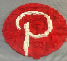 I knew it was out there somewhere!   LEGO Pinterest logo -    :-)