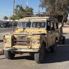 Serie III in Douz Tunesien. Hach. #landrover #series #tunesien #twitter