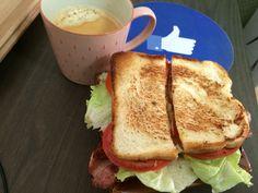 BLT 샌드위치 & 커피