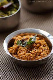 Blend with Spices: Mullangi Pachadi Recipe - Andhra Style Radish Chutney Recipe - South Indian Chutney Recipes