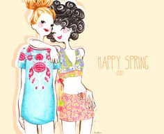 Fashion illustration - dolls on Behance