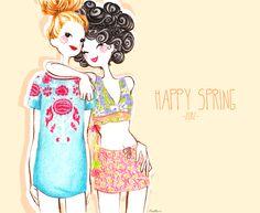 Fashion illustration - dolls on Behance