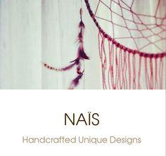 Naïs Logo : Weaving & Dreamcatcher for dreamers...by ★Naïs★©