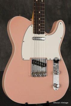 Fender Custom Shop '60 Custom Telecaster Closet Classic 2013 Shell Pink